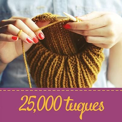 Global challenge to knit/crochet hats for Syrian refugees coming to Canada. US mail in sites available.