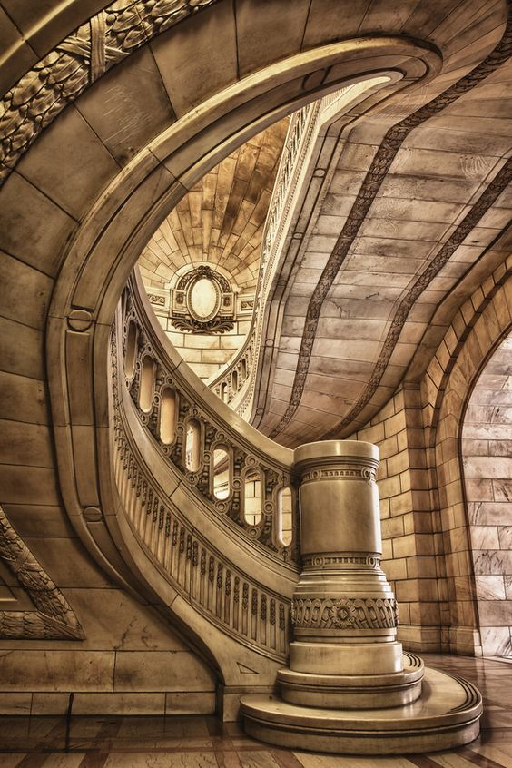 Cuyahoga County Courthouse: Built in 1912 the Courthouse is celebrating it's 100th birthday this year. The original cost of the building was $5 million dollars. Some estimates place the cost of a similar modern project today at $1.94 billion dollars. -by Mark Miller: