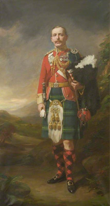 Captain J. M. McLaren, Gordon Highlanders