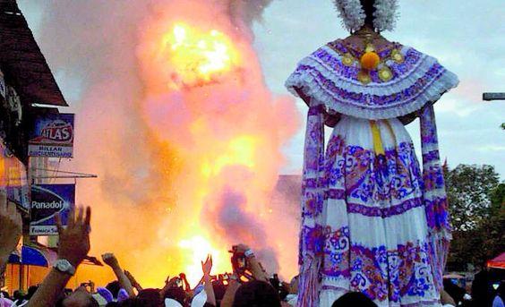 Amanecer miércoles de Ceniza en Las Tablas, Panamá.