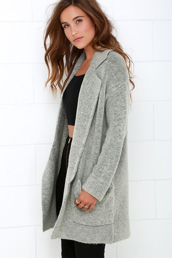 Oversized Sweater Coat - Coat Nj