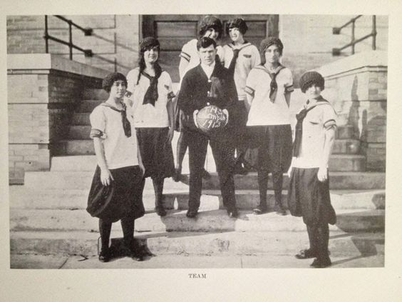 vintage everyday: Inside a High School Yearbook of 1913