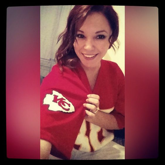 Win or lose...I will always be a #kcchiefsfan!!!! #TONYG #88 #kansascity #kcmo #nfl #pigskin #nativebeauty #irishmade #townsend #raiderhater