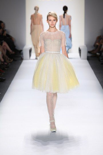 NYFW - Honor Spring 2012--@Roxy Falappino this dress looks like you