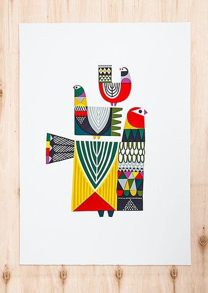 Lintuja by Sanna Annukka