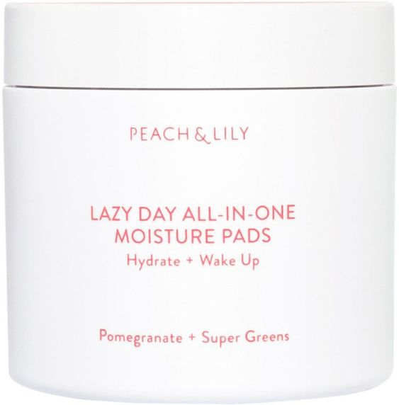 Meet your beauty routine hack. Peach & Lily's Lazy Day All-in-One Moisture Pads deliver hydration, vitamins and antioxidants from Spinach, Broccoli, Carrot, Pomegranate, Bamboo, Ceramides and Hyaluronic Acid. Like a green juice for your face, these soft pads leave you nourished from the inside out. #OvernightBeautyHacks