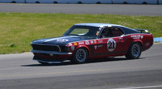 1969 mustang race car