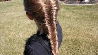 Hairstyle - French Fishtail Braid | Long Hair | Cute Girls Hairstyles