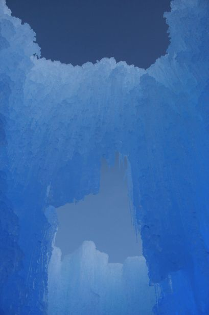 Midway Ice Castle --- Beeutahful.wordpress.com