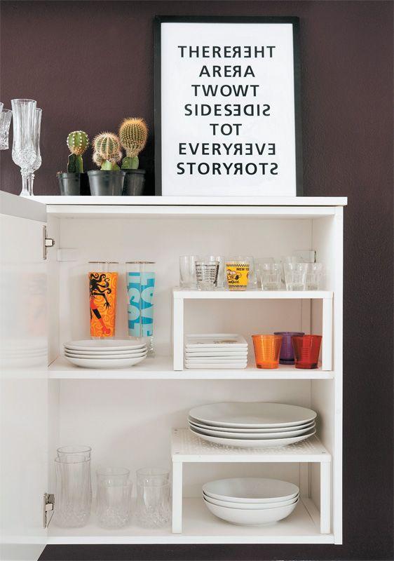 Apartamento pequeno alugado com boas ideias de decoração - Casa: