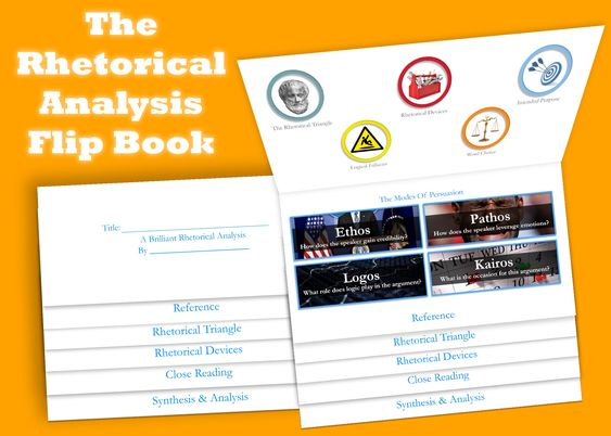 The Flipbook: Simply the best way to assign a comparative rhetorical analysis. #aplangchat #engchat #2ndaryELA