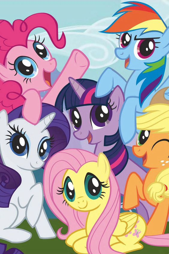 My Little Pony Cores Fortes - Kit Completo com molduras para convites, rótulos…