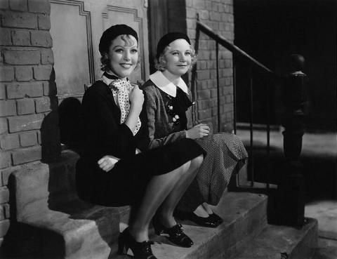 Loretta Young & Una Merkel - Midnight Mary 1933