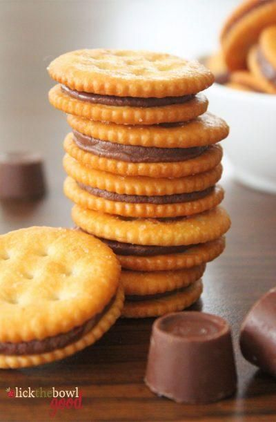 Galletas-sandwich de chocolate y caramelo