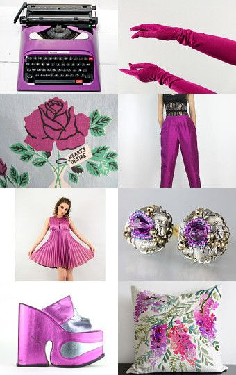 Radiant Orchid Pantone Color Of The Year 2014 by Esther Menashe on Etsy--Pinned with TreasuryPin.com