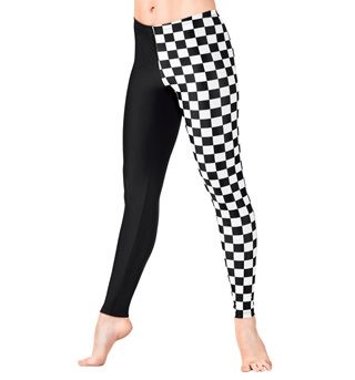 Adult Checkered Leggings - Style No N8837