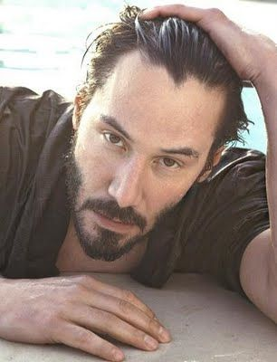 Keanu Reeves - have mercy!  A long time love of mine.  <3