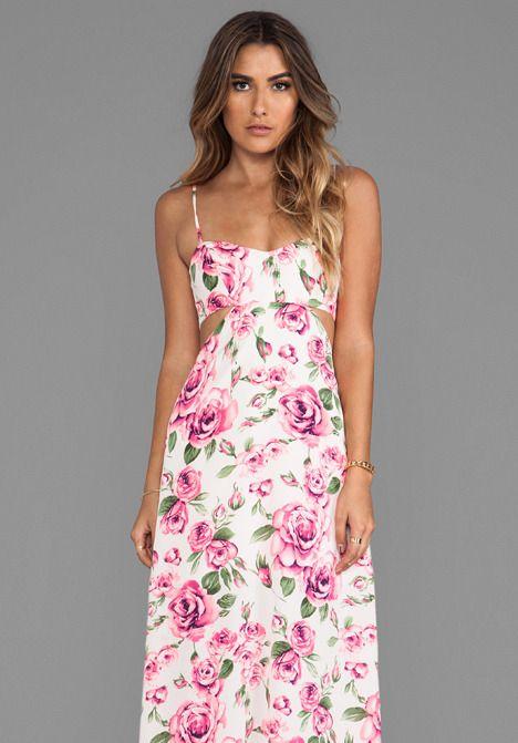 Nookie Valentine Cut Out Maxi Dress on shopstyle.com