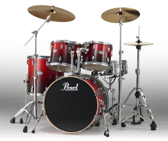 Clearance | Pearl Vision Birch Ruby Fade Drum Kit | VBL925S/C232