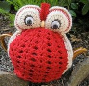 Owl tea cosy - free pattern