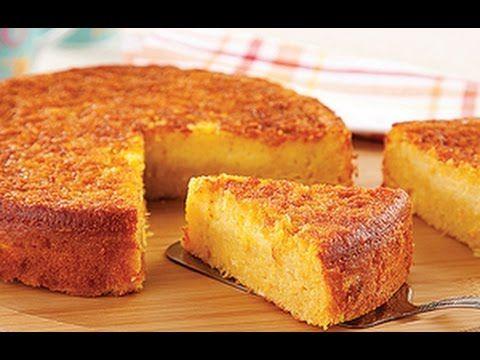 Aprenda o preparo do Bolo de Milho Verde(receita na descrição) - YouTube