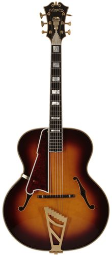 D'Angelico Guitars USA 1942 Master Builder Series Lefty Vintage Sunburst