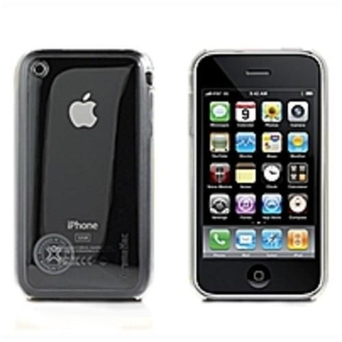 XtremeMac IPP-MSH-03 Microshield Cell Phone Case for Apple iPhone 3GS - Clear