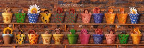 Potting Shed Babies Art Print