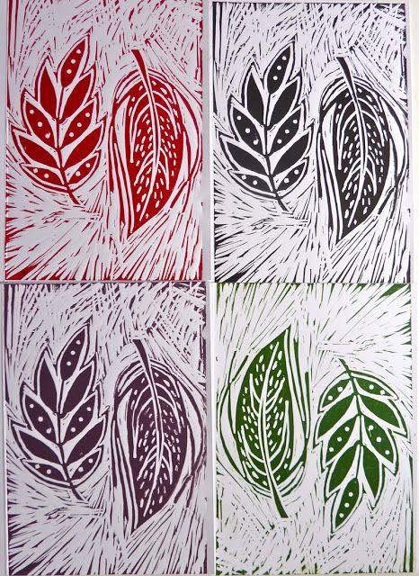 Hello Sugar Cane: Lino Printing Course : Bar Lane Studios York