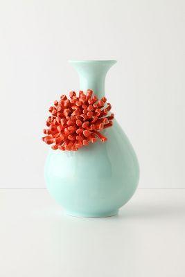 Curvy Chrysanthemum Vase