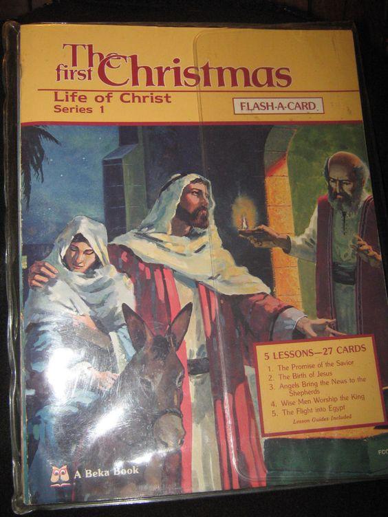 Beka Book Flash-a-Card Genesis Series 5 Joseph Vintage Bible 1982