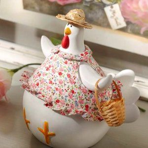Poule liberty amadeus zoom poule liberty for Poules decoration