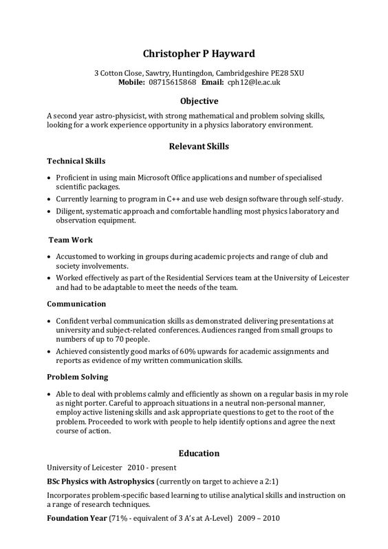 Amazing How To Word A Resume Template  How To Word A Resume