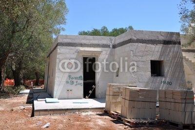 Hausbau im Olivenhain