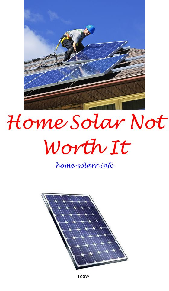 Can Solar Panels Power A Whole House Solar Energy For Home Solar Heating Panels Solar Generator
