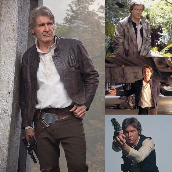 In or out of carbonite, Han Solo's style is always cool. #StarWars #FashionWeek