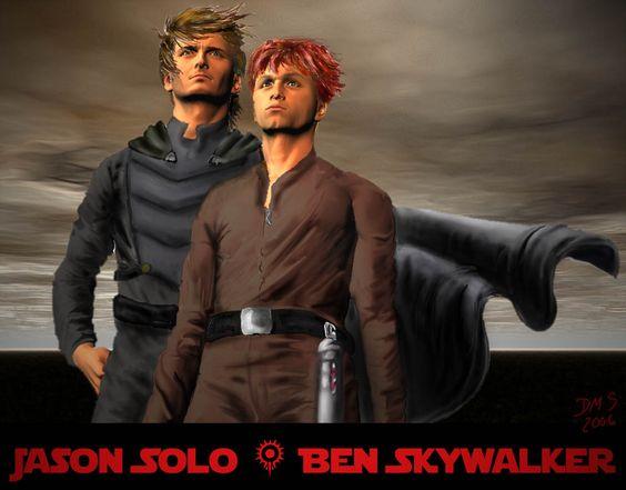 Jacen Solo and Ben Skywalker by AG88 | Star Wars EU ...