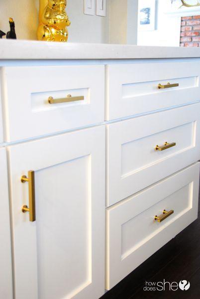 Brushes brass drawer pull Lewu0027s Hardware | Hardware | Pinterest | Brass  drawer pulls, Hardware pulls and Kitchen hardware