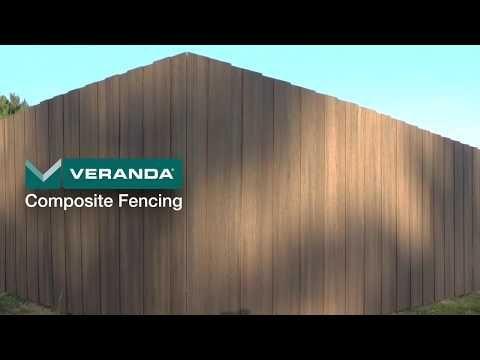 Ranch Rail Veranda Deck With Images Veranda Composite Fencing Fence