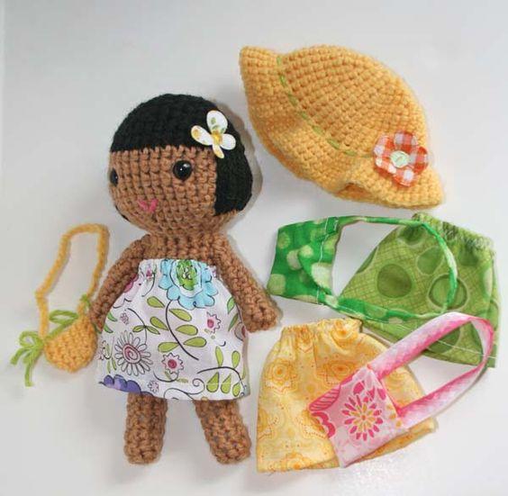 Dress up set by my sweet dolls, amigurumi crochet ...