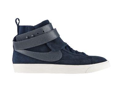Nike Blazer Mi Torsion Gris Haute Montante Dames