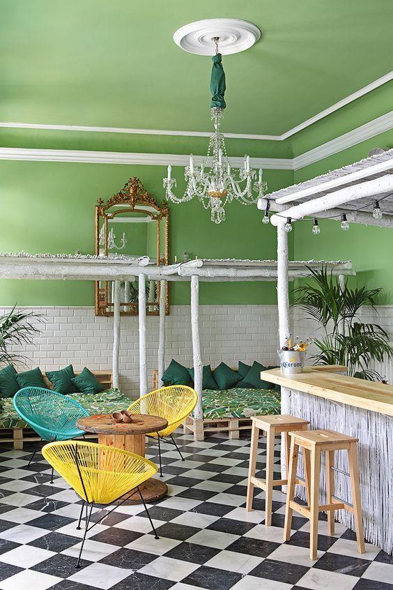 ⇢ Este #VEROÑO...Siéntate en tu Acapulco 🍍🍉 Tú eliges cuál: turquesa, negra, amarilla, blanca, natural.  I love IT! #decoración #interiorismo