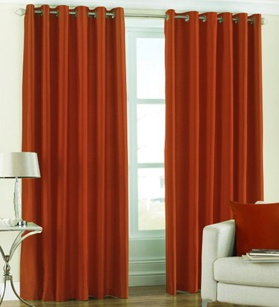 curtains rust 1408705789 - Rust Color Curtains