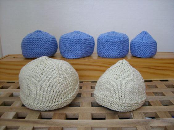 modèle tricot bonnet premature