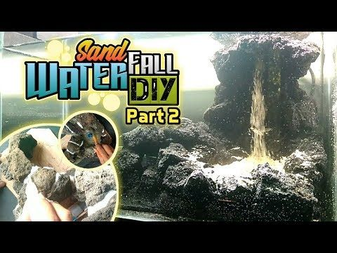 Cara Membuat Air Terjun Pasir Aquascape Part 2 Tebing Bebatuan Youtube Aquascaping Air Terjun Pasir