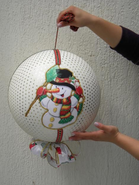 Fotos de bolas navide as gigantes hazlo tu mismo - Bolas navidad gigantes ...