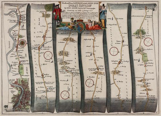 the road from london to lands end by john ogilby 1675