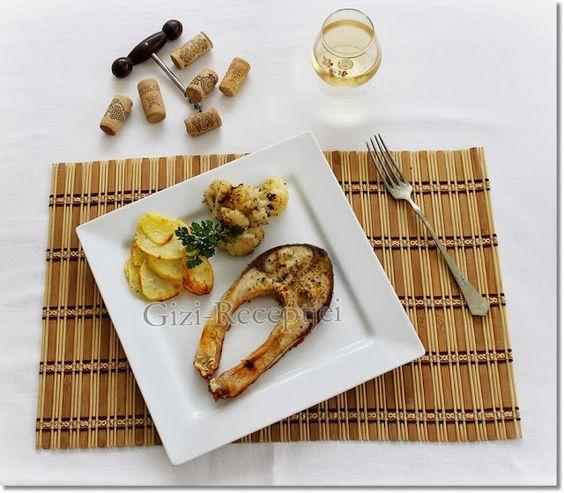 Gizi-receptjei. Várok mindenkit.: Hétvégi receptajánló!!! Busaszelet sült krumplival és karfiollal.