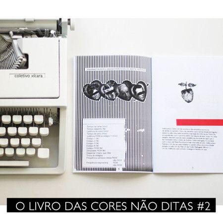 Zine Coletivo Xícara_O Livro das Cores Não Ditas #2