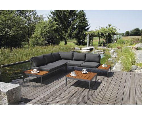 Loungeset Acamp Lounge Shade 4 Sitzer 2 Teilig Anthrazit Inkl Sitzkissen Bei Hornbach Kaufen Lounge Tisch Hohenverstellbar Sitzkissen